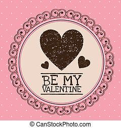 valentines day - Illustration be my valentine. Valentines...