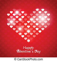 Valentine's Day - Gift card. Valentine's Day with place for...