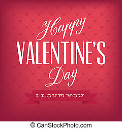 Valentine's day - Happy Valentine's day text on special...