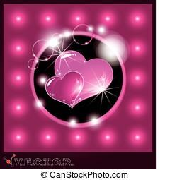 Valentine's Day. 14 february valentine day background.