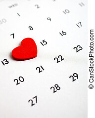 Valentines Day - February 14th, the Valentine´s Day