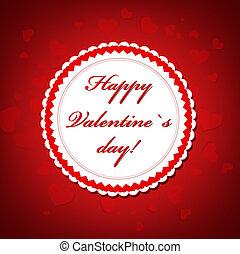 Valentine`s day frame