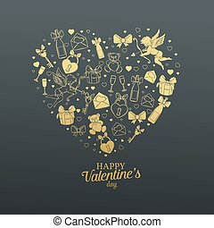 Valentines day gift card.