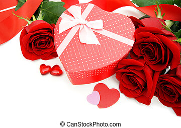 Valentines Day gifts - Heart shaped Valentines Day gift box...