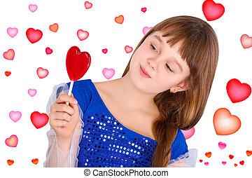 valentines day girl