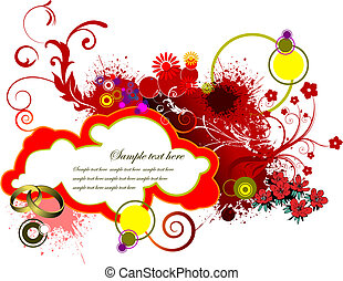 Valentine`s Day  Greeting Card. Vector illustration