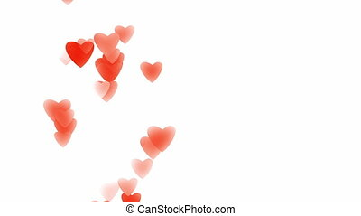Valentine's day greeting video card