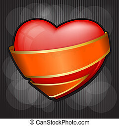 Valentine`s Day heart