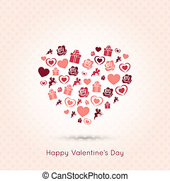 valentines day heart seamless design background - valentines...
