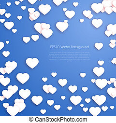Valentines Day Hearts Background