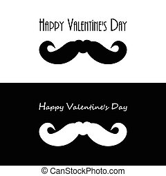valentines day hipster banners