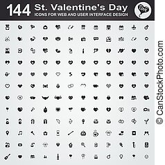 Valentines day icons