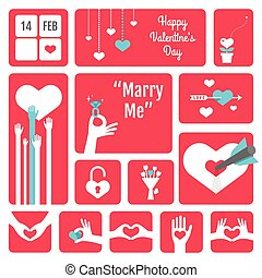 Valentines' day Icons
