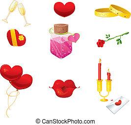 Valentine's Day Icons