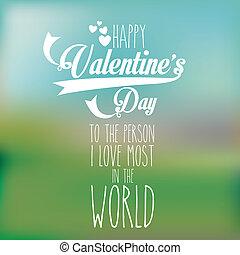 valentines day over pattern background vector illustration