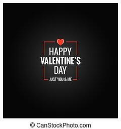 valentines day logo design background