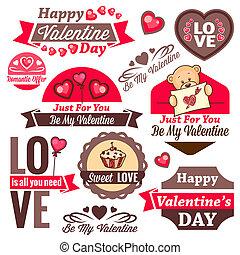 valentine`s day logos