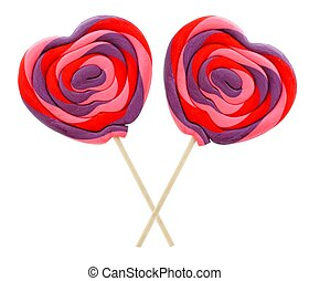 Valentines Day lollipops