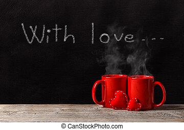 Valentines Day love concept
