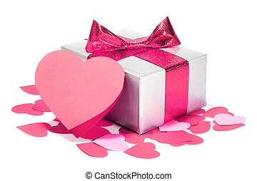 Valentines Day love gift - Valentines Day gift in silver box...