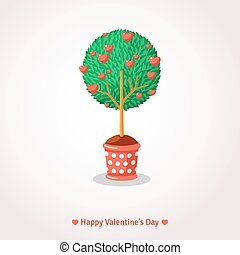Valentine's Day Love Tree.