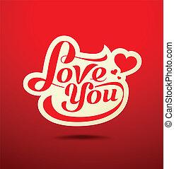Valentines Day message design