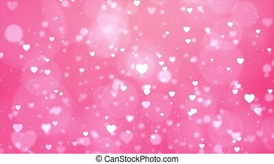 Valentine's day motion background loop Animation Background