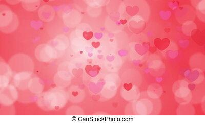 Valentine's Day - motion heart, loop