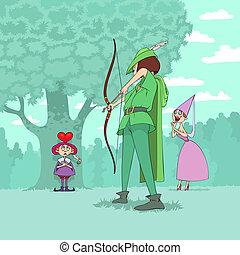 Valentine's Day of Robin Hood