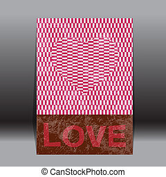 valentine's day  paper classic  vec