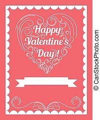 Valentine's day party invitation design
