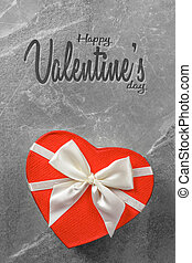 Valentines day red box in shape of heart - Happy Valentines ...