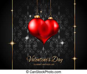 Valentine's Day Restaurant Menu Template Background for Romantic Dinner