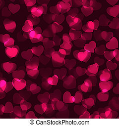 Valentine's Day romantic background. EPS 8