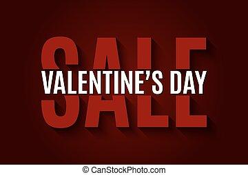 Valentines day sale design background
