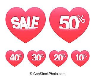 Valentines Day Sale Stickers