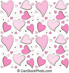 Valentine's Day Seamless Background