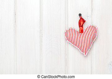 Valentines day toy heart hanging