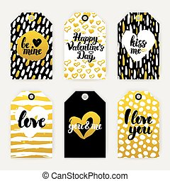 Valentines Day Trendy Gift Labels
