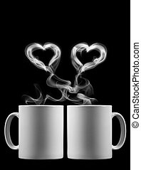 Valentine's Day - Two cups of tea with love