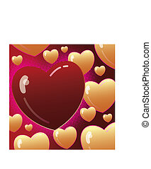 valentine\\\'s day vector background