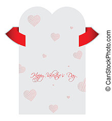 Valentine's Day vector background with special design