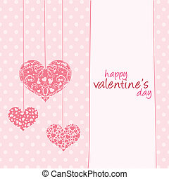 Valentine's Day - Happy valentine's day text on a special...