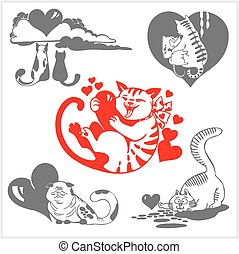Valentines day - vector set.