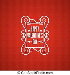 valentines day vintage design background