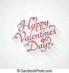 valentines day vintage retro lettering background