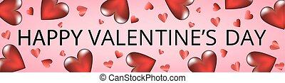 Valentines day web banner