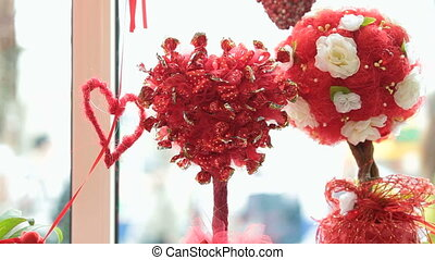 Valentines Day Window Display