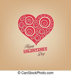 valentines day with heart
