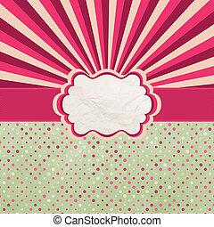 Valentines Design Template. EPS 8